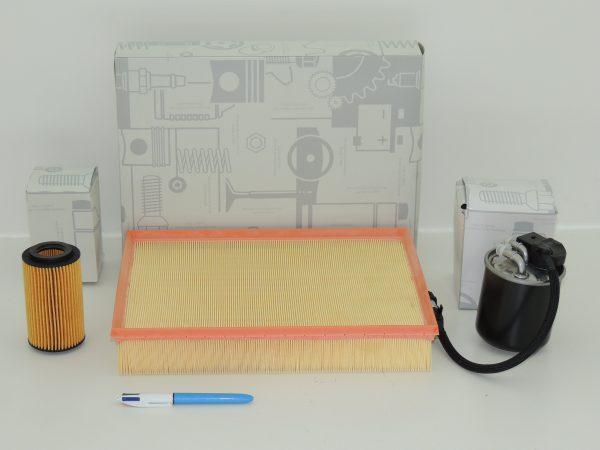 Filter kit 651 (3 parts)