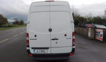 Mercedes Sprinter LWB Van 2012 full
